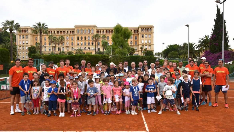 Fête Ecole de Tennis avec Alizé Cornet 13.06.18