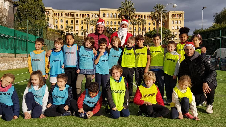 Fête de Noël Ecole de Tennis 12 et 15.12.2018