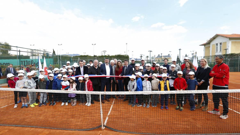 Inauguration Plateau Tennis Etudes 10.04.19